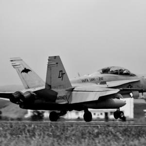 米海兵隊 F/A-18 ホーネット ~鹿屋航空基地にて~