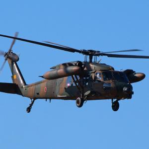 陸上自衛隊 UH-60JA ~都城駐屯地 訓練場~