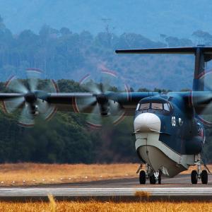 海上自衛隊 US-2A ~第71航空隊~
