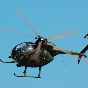 陸上自衛隊 観測ヘリ OH-6D