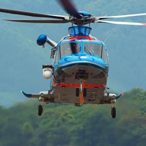 鹿児島県警航空隊 AW139「はやと」