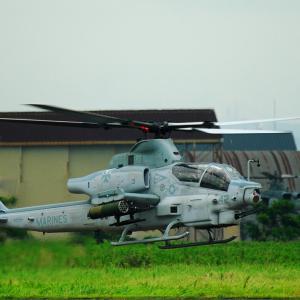 """無事にお帰りになられたようで…  AH-1Z """"VIPER"""""""