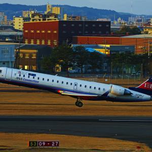 IBEX Airlines CRJ-700 ~宮崎空港~