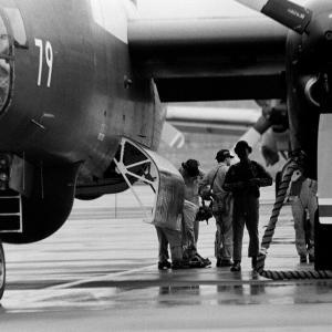 海上自衛隊 対潜哨戒機 P-2J ~鹿屋航空基地~
