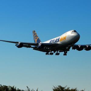 ATLAS馬便! B747-400~鹿児島空港~