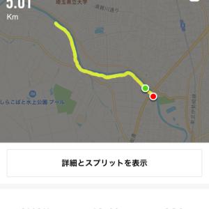 2019/09/29 Run ※体重記録更新