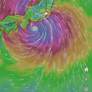 2019/10/12 台風
