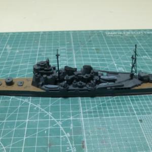 次回作は1/700 重巡洋艦高雄を修復・改修・・・。