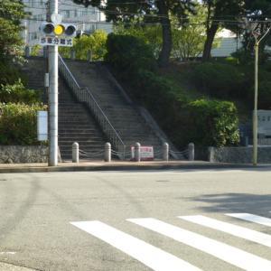 10/30 旧海軍病院前の階段