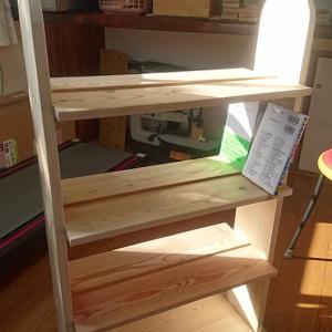 端材で本箱DIY