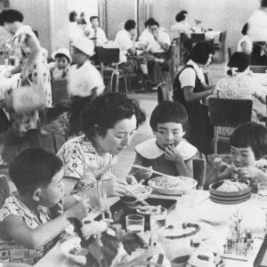 昭和のデパートのレストラン
