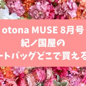 otona MUSE(オトナミューズ) 8月号の付録が売り切れ!再入荷はある?