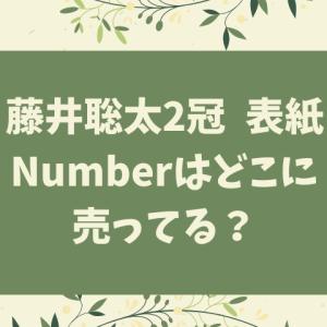 ナンバー(Number)藤井聡太はどこに売ってる?在庫あり店舗まとめ!