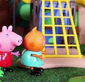 【犬猫動物動画まとめ】Peppa Pig Juguetes en Español  Peppa pig y danny dog se besan