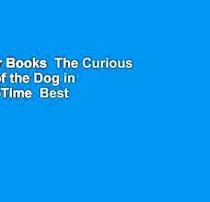 【犬猫動物動画まとめ】About For Books  The Curious Incident of the Dog in the Night-Time  Best Sellers Rank : #2
