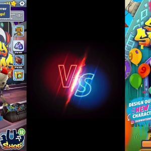 【犬猫動物動画まとめ】SUBWAY SURFERS:2021   Tagbot vs Ninja