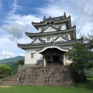 【30日目】毎日漫画描きながら四国一周1400キロ歩きお遍路 ~宇和島到着!お城と鯛めし~