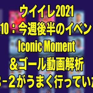 Jun.10:今週後半のイベント・Iconic Moment&ゴール動画解析〜5−3−2がうまく行っていた頃…〜【ウイイレ2021 myClub】