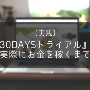 【実践】30DAYSトライアルで実際にお金を稼ぐまで②【11~15days】