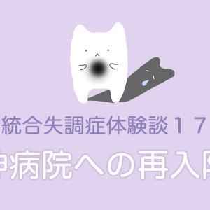 統合失調症体験談17【精神病院への再入院1】