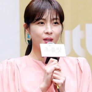女優『ハ・ジウォン』新ドラマ「チョコレート」制作発表会に出席!「シェフ役のため飲食店で実習した」