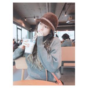 【画像2枚】『チョン・ソミン』「カフェでジュースを飲む」写真を公開!