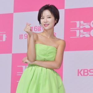 女優『ファン・ジョンウム』KBSドラマ『あいつがそいつだ』制作発表会「37歳なのにまだラブコメができることに感謝」