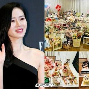 女優『ソン・イェジン』誕生日とデビュー20周年のプレゼントに感動!