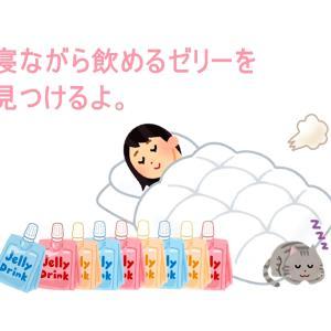 【随時更新】寝ながらでも美味しく飲めるゼリー飲料を探しました