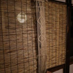 マクラメ編みでタペストリー(壁掛け)!