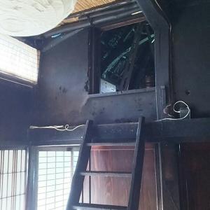 古民家ゲストハウスの忍者部屋を修繕中!