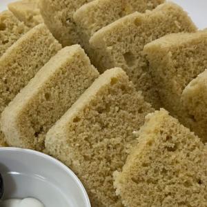 糖質制限おやつマラソン【23日目】アーモンドプードル レンジケーキ