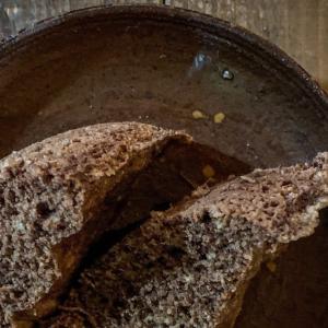 今日も糖質制限ごはん:アーモンドプードルのレンジ蒸しパン