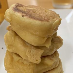 糖質制限おやつマラソン【12日目】大豆粉ミニパンケーキ
