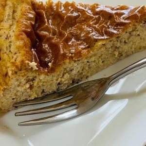 糖質制限おやつマラソン【11日目】黒豆粉チーズケーキ