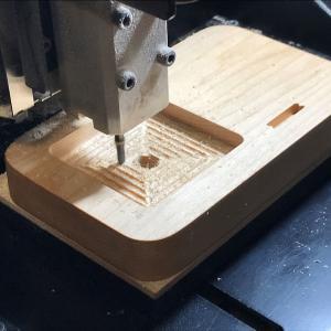 エンドミルによる切削について/CNC工作機による木工小物製作