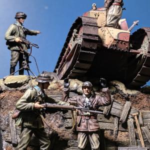 ジオラマ制作 ・西部戦線(完成)