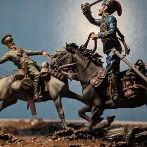 MB・ww1 騎馬戦フィギュア (完成)