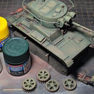 T-26(10)塗装-第三世界一