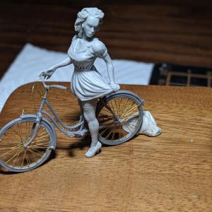 マスターボックス・自転車組み立て