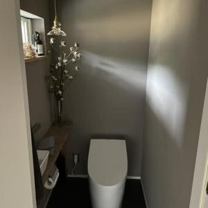 この期にうちのトイレの壁紙を紹介します!