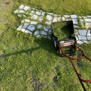エコ最優先の暮らしより好きなこと!6時台の芝刈り