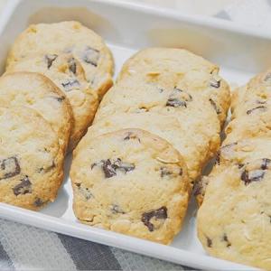 サクサク食感のチョコチャンククッキーの作り方