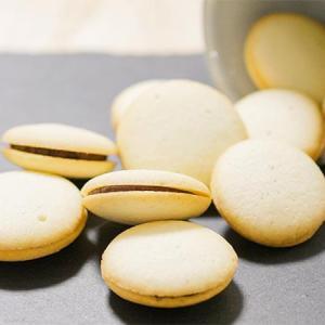 ラングドシャクッキーのチョコガナッシュサンドのレシピ