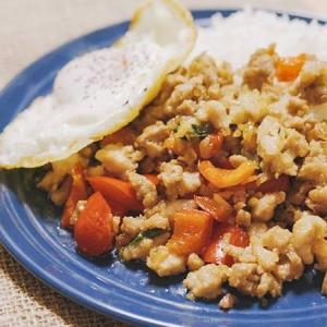 定番タイ料理!辛旨ガパオライスの作り方