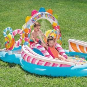 夏はビニールプール。キャンディゾーン プレイセンター ビニールプール  レビュー