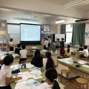 「天気予報にチャレンジ」@芦屋市立朝日ケ丘小学校10/16
