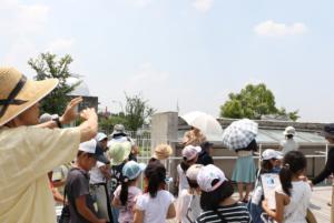 「雲ってなぁ〜に? 雲を知って、お天気博士になろう!」@京エコロジーセンター8/2