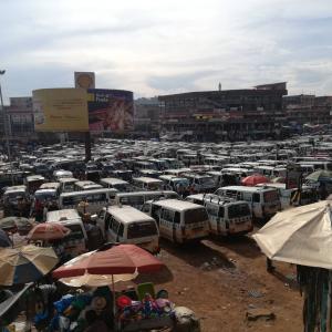 ウガンダの交通事情