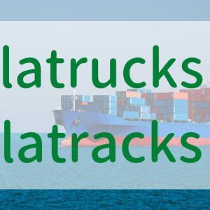 【貿易】フラットラックコンテナの英語表現|L, R, U, Aの組み合わせと検索での調べ方